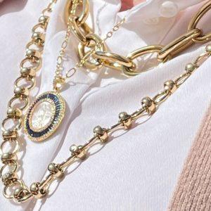 Medalla Redonda Virgen de Guadalupe