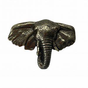 Hebilla Elefante Dorado