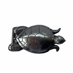 Hebilla Tortuga Boba Plateada