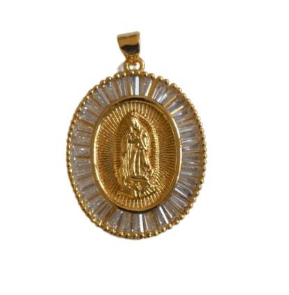 Medalla Virgen Cristal